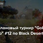 """Стрим: Клановый турнир """"GoHa Guild Cup"""" #12 по Black Desert"""