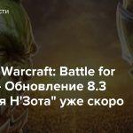 World of Warcraft: Battle for Azeroth — Обновление 8.3 «Видения Н'Зота» уже скоро