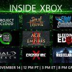Прямой эфир с презентации Inside Xbox — новая игра, анонс Obsidian и другое
