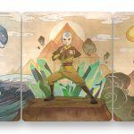 Nickelodeon показала шикарные обложки коллекции книг и стилбука «Аватар»
