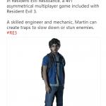 Resident Evil: Resistance — Capcom показали нового выжившего