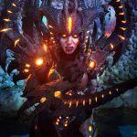 Потрясающий косплей Диабло из Diablo 3