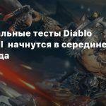 Региональные тесты Diablo Immortal начнутся в середине 2020 года