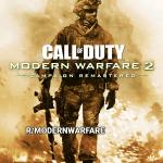 Датамайнеры нашли обложку ремастера Call of Duty: Modern Warfare 2 — Activision обновляет только кампанию