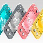Nintendo назвала дату появления на российском рынке консоли Switch Lite в коралловой расцветке