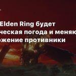 Слух: В Elden Ring будет динамическая погода и меняющие расположение противники