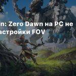 В Horizon: Zero Dawn на PC не будет настройки FOV