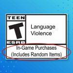 ESRB добавит пометку о внутриигровых покупках со случайными предметами
