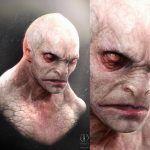Бледная кожа и грозный взгляд: Художник показал Рептилию из отмененного фильма по Mortal Kombat