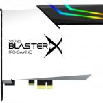 Creative Technology представила звуковую карту Sound BlasterX AE-5 Plus Pure Edition