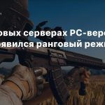 На тестовых серверах PC-версии PUBG появился ранговый режим и боты