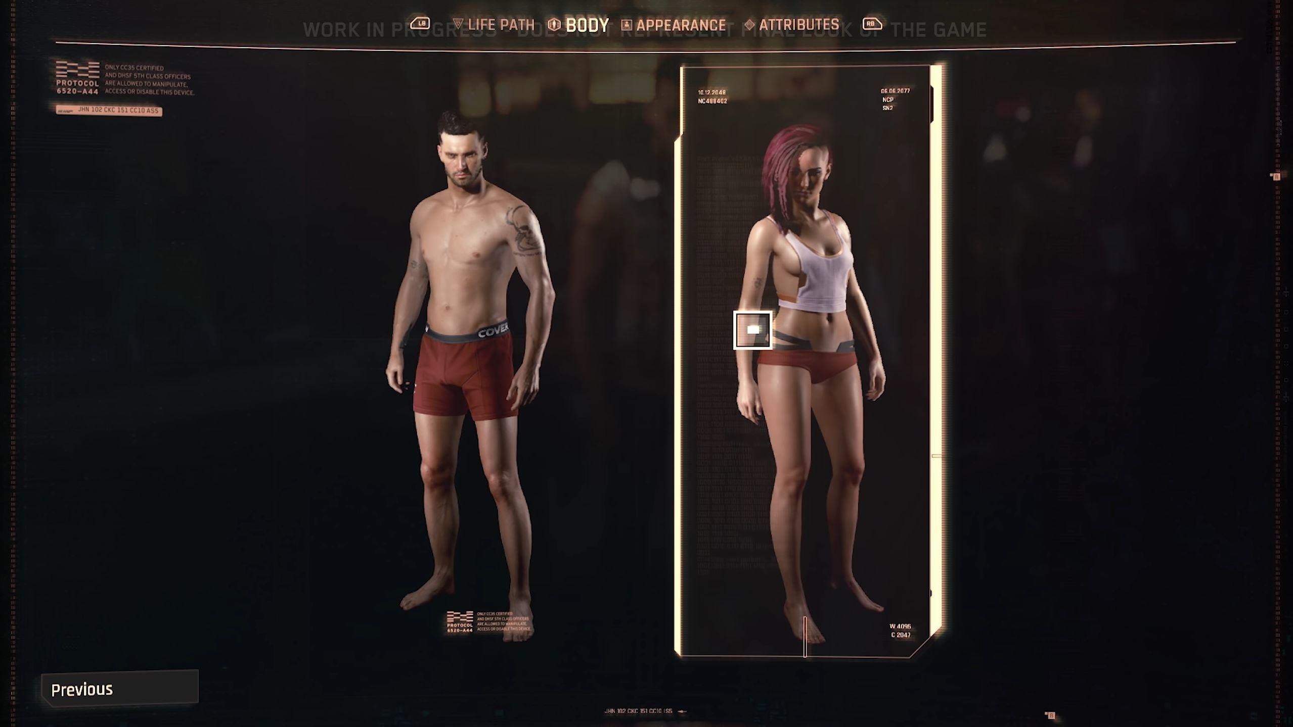 Незнакомка с сюрпризом: Cyberpunk 2077 позволит комбинировать половые органы и предложит сцены орального секса - Beltion