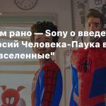 Слишком рано — Sony о введении киноверсий Человека-Паука в «Через вселенные»