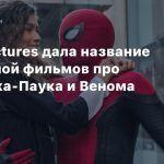 Sony Pictures дала название вселенной фильмов про Человека-Паука и Венома