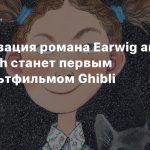 Экранизация романа Earwig and the Witch станет первым 3D-мультфильмом Ghibli