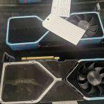 Утечка: Фотографии видеокарты Nvidia RTX 3080