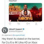 Far Cry 6 будет работать в 4K на PS5 и PS4 Pro