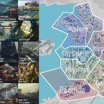 Игрок составил карту районов Найт-Сити из Cyberpunk 2077