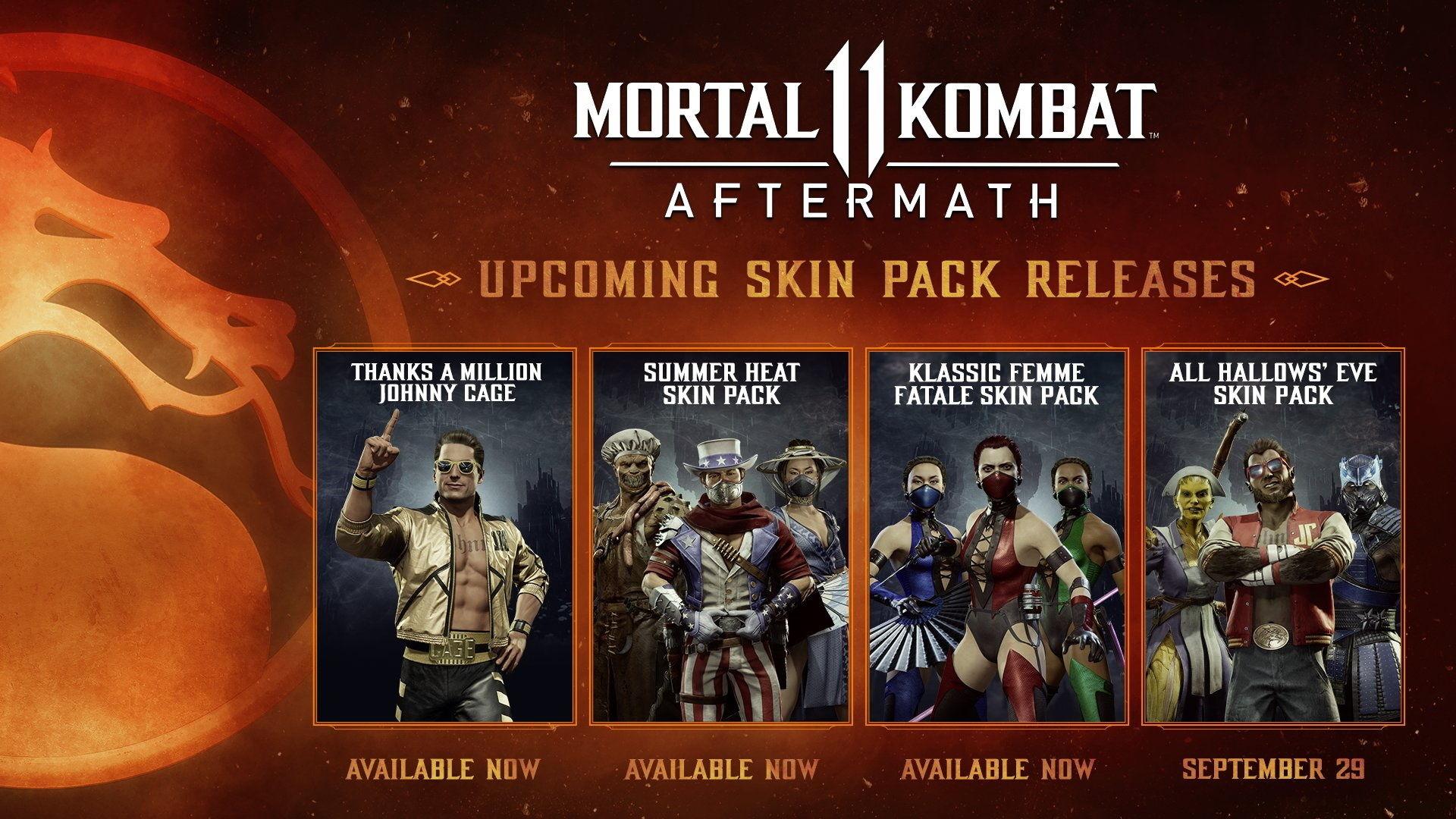 Медсестра, волчонок и морозный король: Разработчики Mortal Kombat 11 показали хэллоуинские костюмы