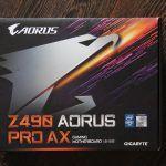 Помогаем собрать новый PC: Материнская плата GIGABYTE Z490 AORUS PRO AX и процессор Intel Core i5-10600K ждут призера