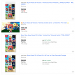 Перекупщики уже продают Super Mario 3D All-Stars для Nintendo Switch за 200 фунтов