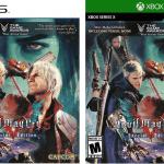 Теперь с Вергилием: Появилась обложка Devil May Cry 5: Special Edition для Xbox Series и PlayStation 5
