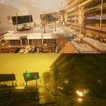 В Найт-Сити не всегда солнечно: Появились скриншоты с демонстрацией смены погоды в Cyberpunk 2077