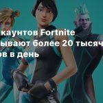 Воры аккаунтов Fortnite зарабатывают более 20 тысяч долларов в день