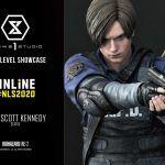 Кровь во все стороны: Представлены две роскошные статуэтки Леона и Клэр из Resident Evil 2