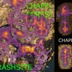 Разработчики Baldur's Gate 3 показали карту смертей игроков