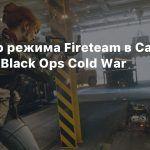 Трейлер режима Fireteam в Call of Duty: Black Ops Cold War