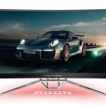 Porsche Design и компания AOC представили изогнутый игровой QHD-монитор с 240 Гц