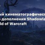 Релизный кинематографический трейлер дополнения Shadowlands для World of Warcraft