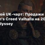 Цифровой UK-чарт: Продажи Assassin's Creed Valhalla на 200% выше Odyssey
