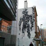 Красивый стрит-арт с изображением Райдена из Metal Gear Rising: Revengeance стерли спустя семь лет