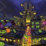 Разработчики Psychonauts 2 поделились подборкой концепт-артов