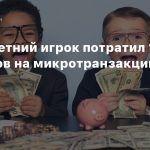 Шестилетний игрок потратил 16000 долларов на микротранзакции