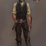 Новые концепт-арты Red Dead Redemption 2: ранний образ Артура Моргана и Дикий Запад