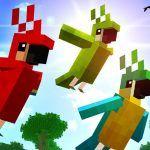 Как приручить попугая в Minecraft