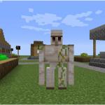 Как создать железного голема в Minecraft