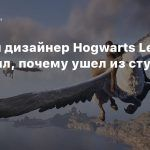 Бывший дизайнер Hogwarts Legacy объяснил, почему ушел из студии