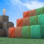 Прохождение Minecraft (Майнкрафт): Где найти медь в Minecraft и для чего она используется?