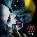 Страстный поцелуй с пришельцем на свежем постере десятого сезона «Американской истории ужасов»