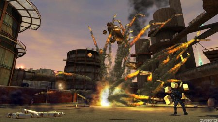 Скриншоты эксклюзивов Alan Wake и Crackdown 2