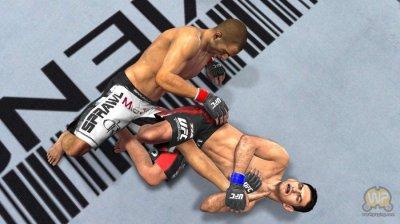 Скриншоты из игры UFC 2010 Undisputed