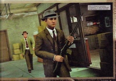 Отсканированные «скриншоты» проекта L.A. Noire