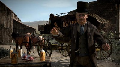 Скриншоты персонажей Red Dead Redemption