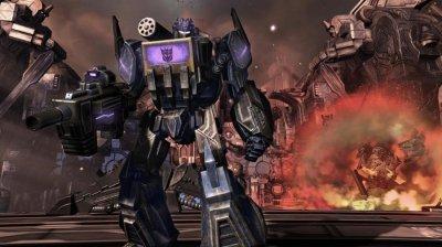 Скриншоты Transformers: War for Cybertron