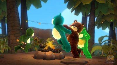 Скриншоты из игры Naughty Bear