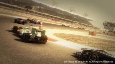 Гонки F1 2010 выйдут в сентябре